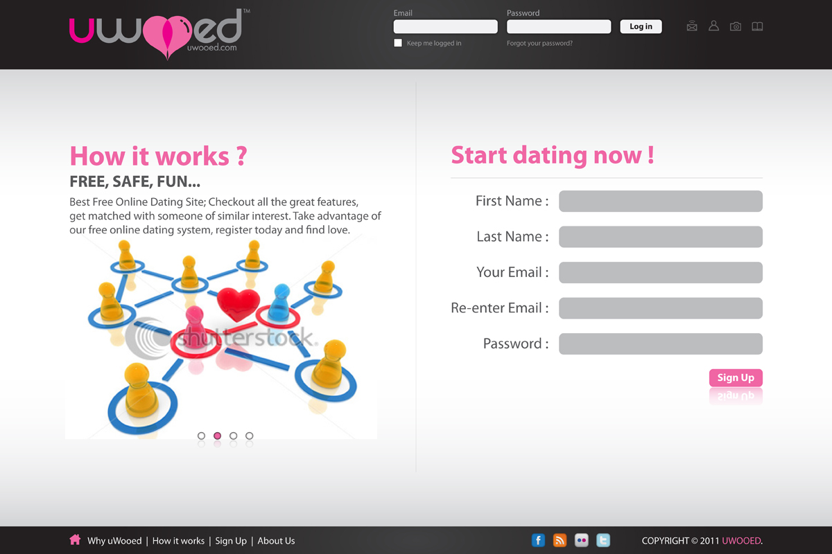 Online dating project