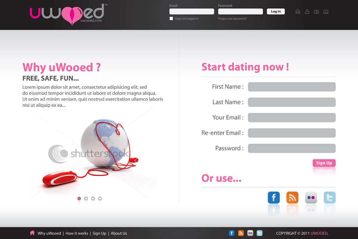 Dating Site Web Designers