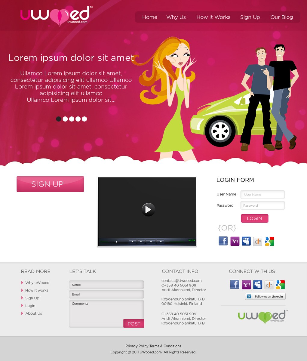 Dating website development company