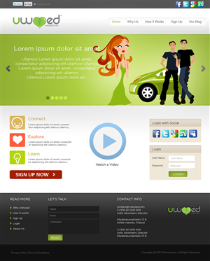 Web Design by pb - Web Design for an Online Dating Web Site