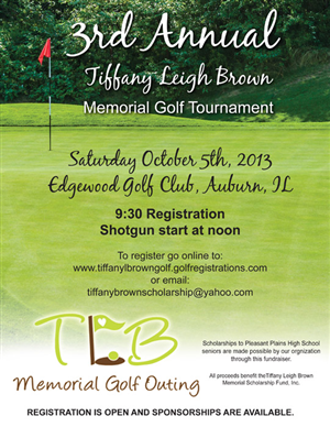 flyer design by jmsgraphicdesign for the tiffany leigh brown memorial scholarship fund inc