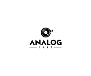 Serious, Personable, Cafe Logo Design for Analog Café by