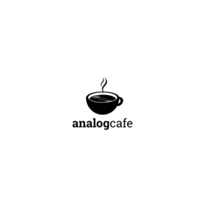 Serious, Personable, Cafe Logo Design for Analog Café by RK