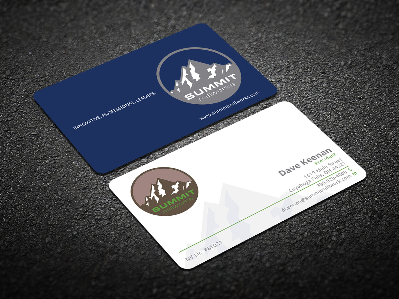147 Professional Business Card Designs | Construction Company ...