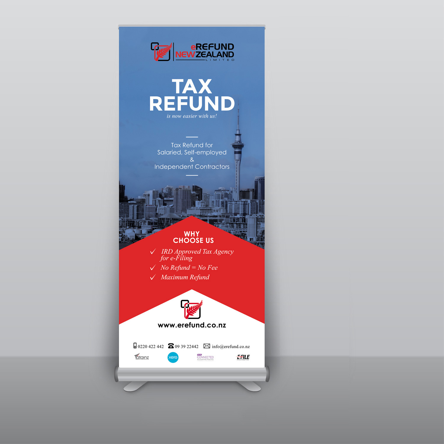 Pull Up Advertising Banners