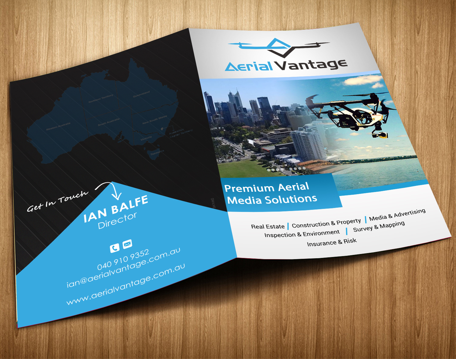 business brochure design for a company by sd web creation design