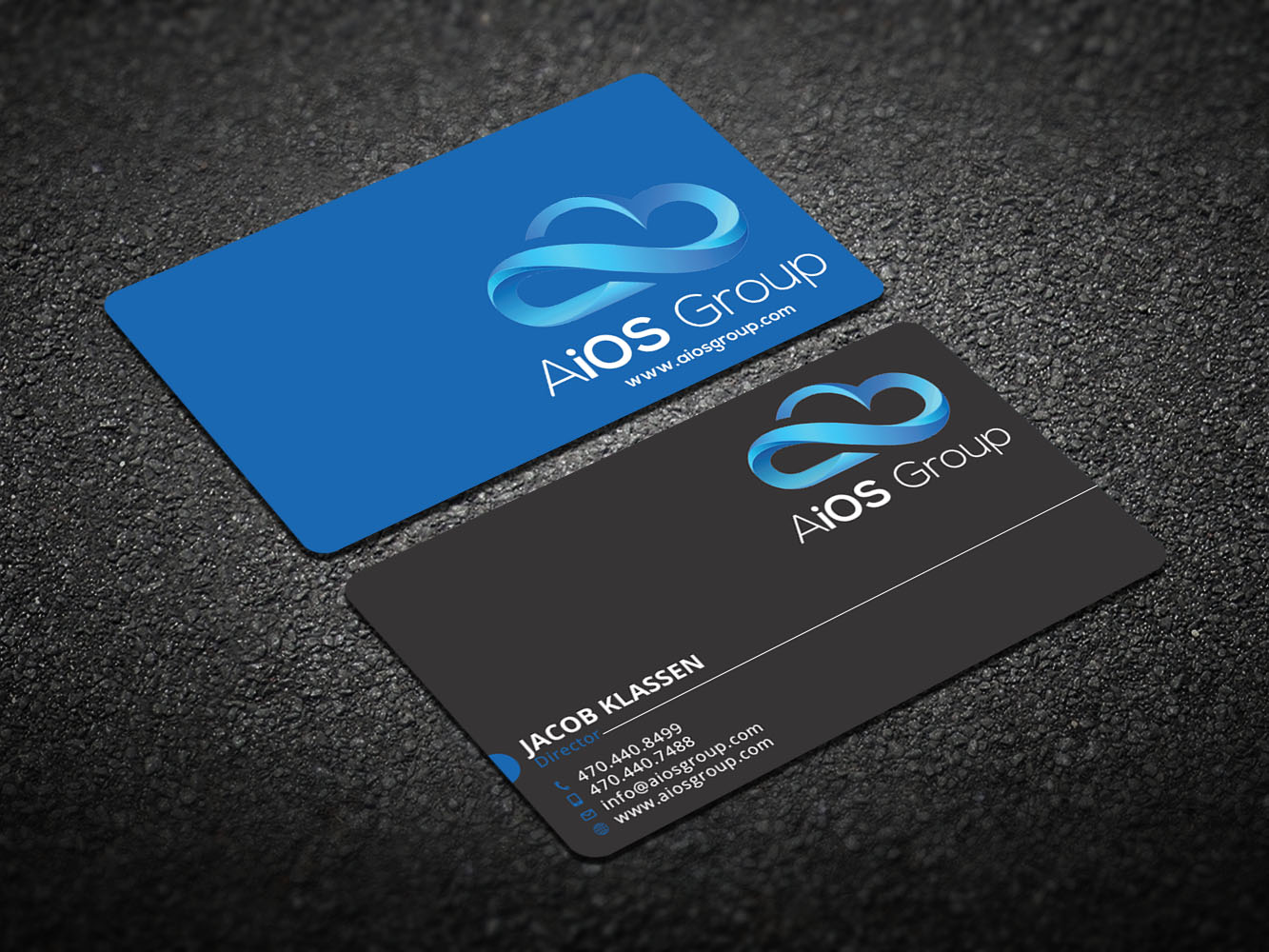 184 Upmarket Business Card Designs | Information Technology Business ...