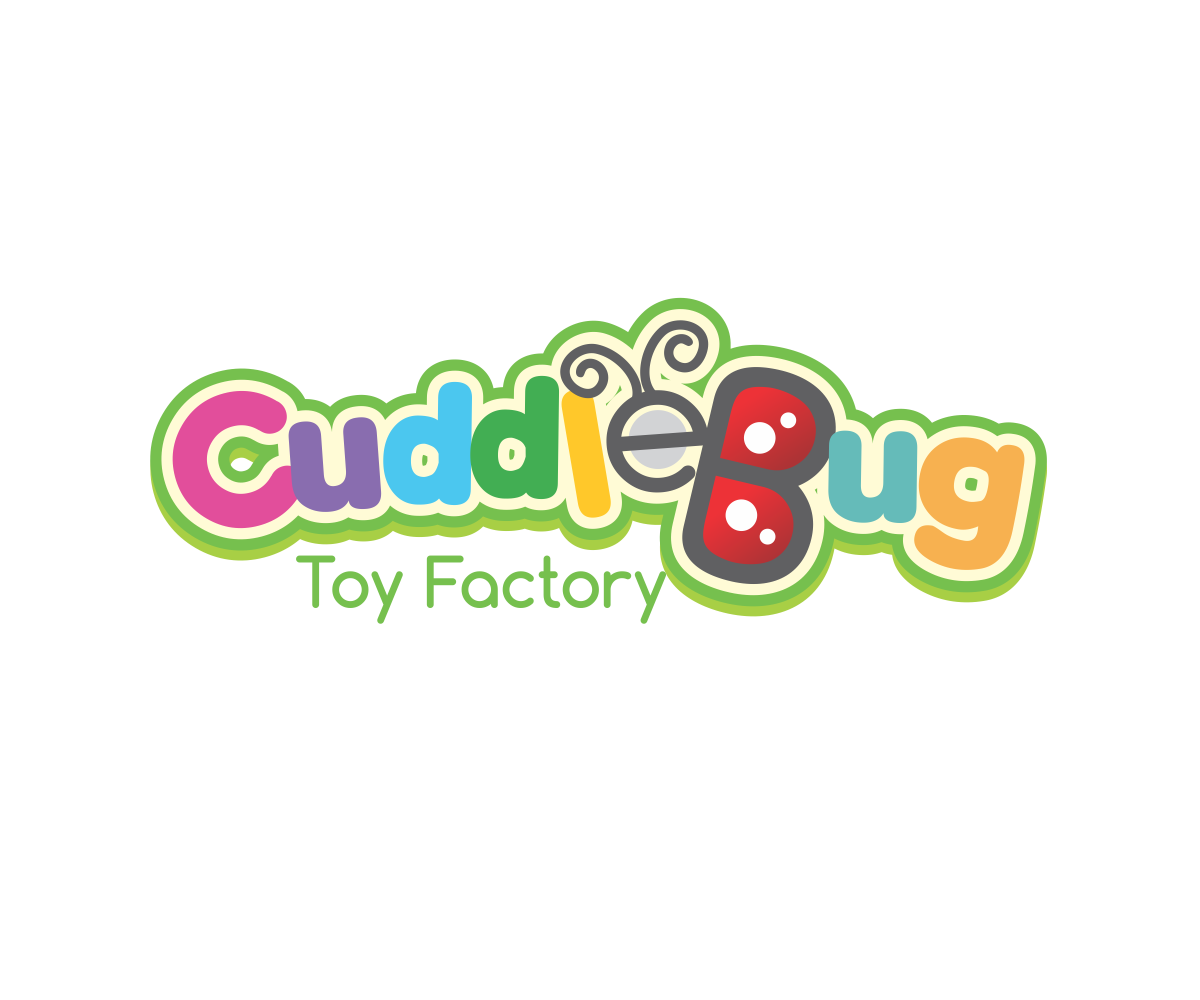 Playful, Personable, Toy Store Logo Design For Cuddle Bug