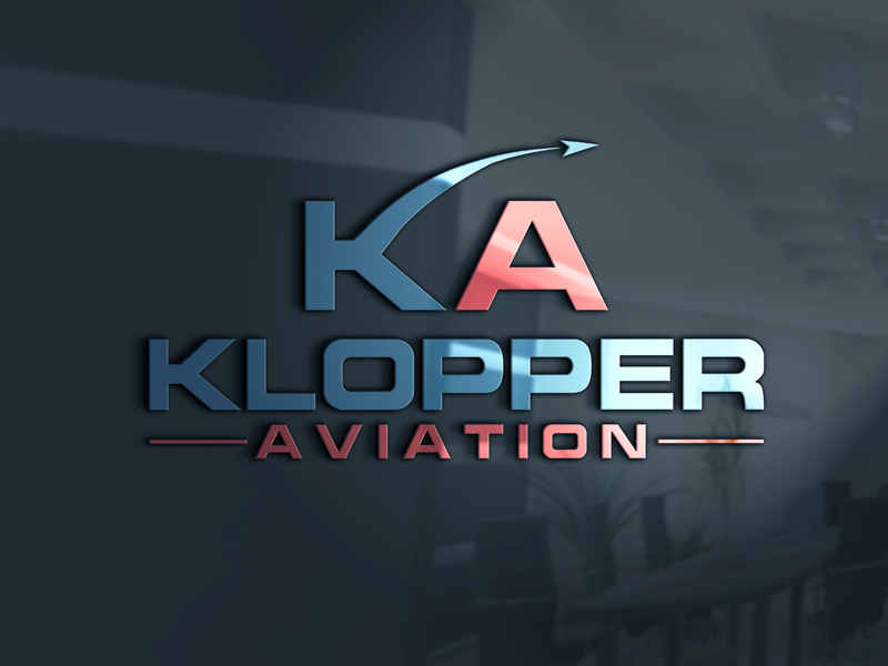 Logo Design By Futuristic For Klopper Aviation Needs A Great Company And Business Card
