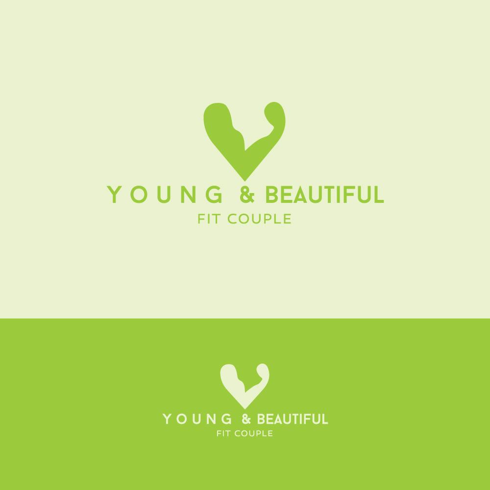 Elegant Playful Logo Design For Yandbfitcouple By
