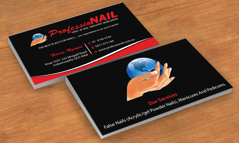 Masculine upmarket industry business card design for professionail business card design by sbss for professionail indooroopilly design 2163745 reheart Images