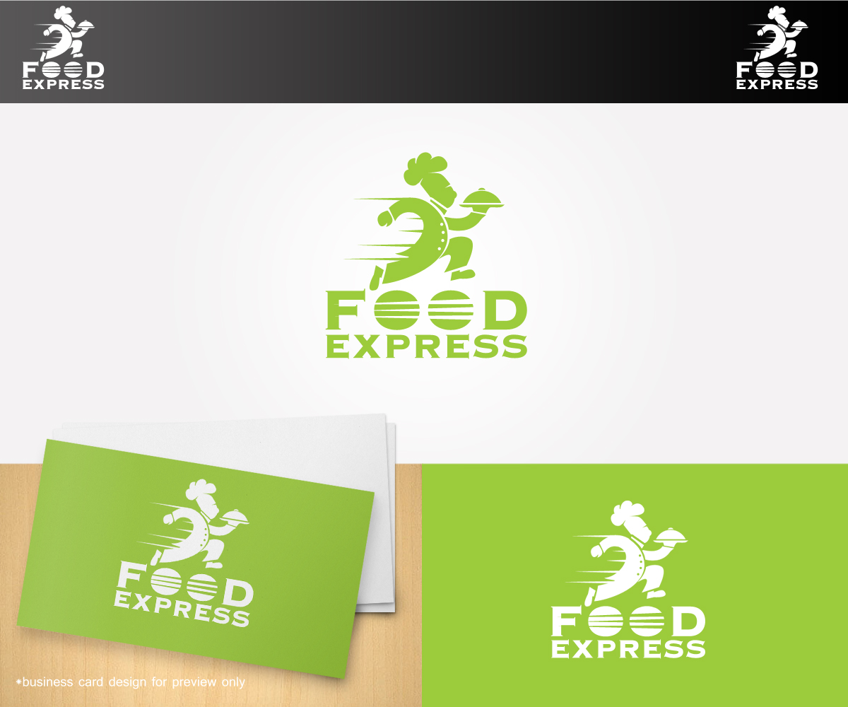 Professional, Feminine, Delivery Service Logo Design for Food ...