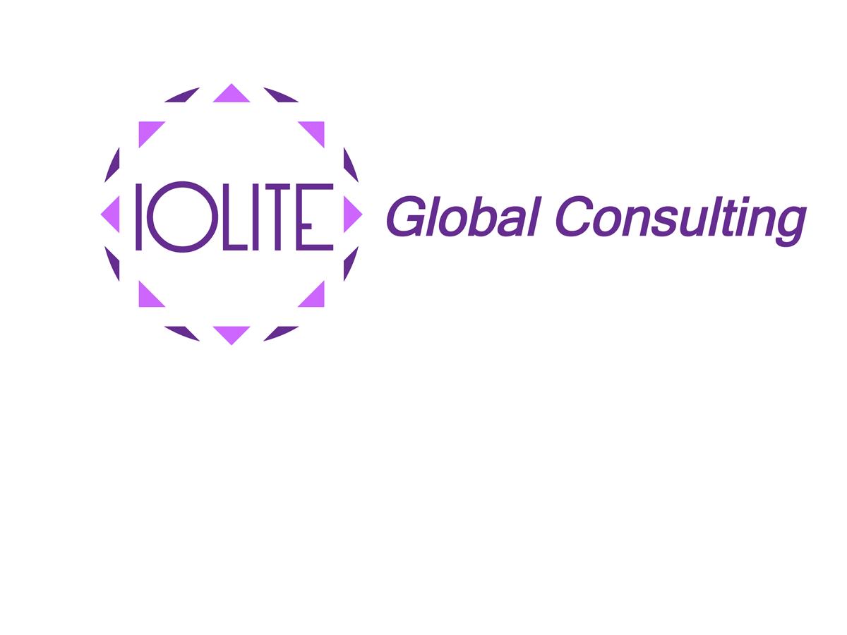 Upmarket modern marketing logo design for iolite global for Global design consultancy