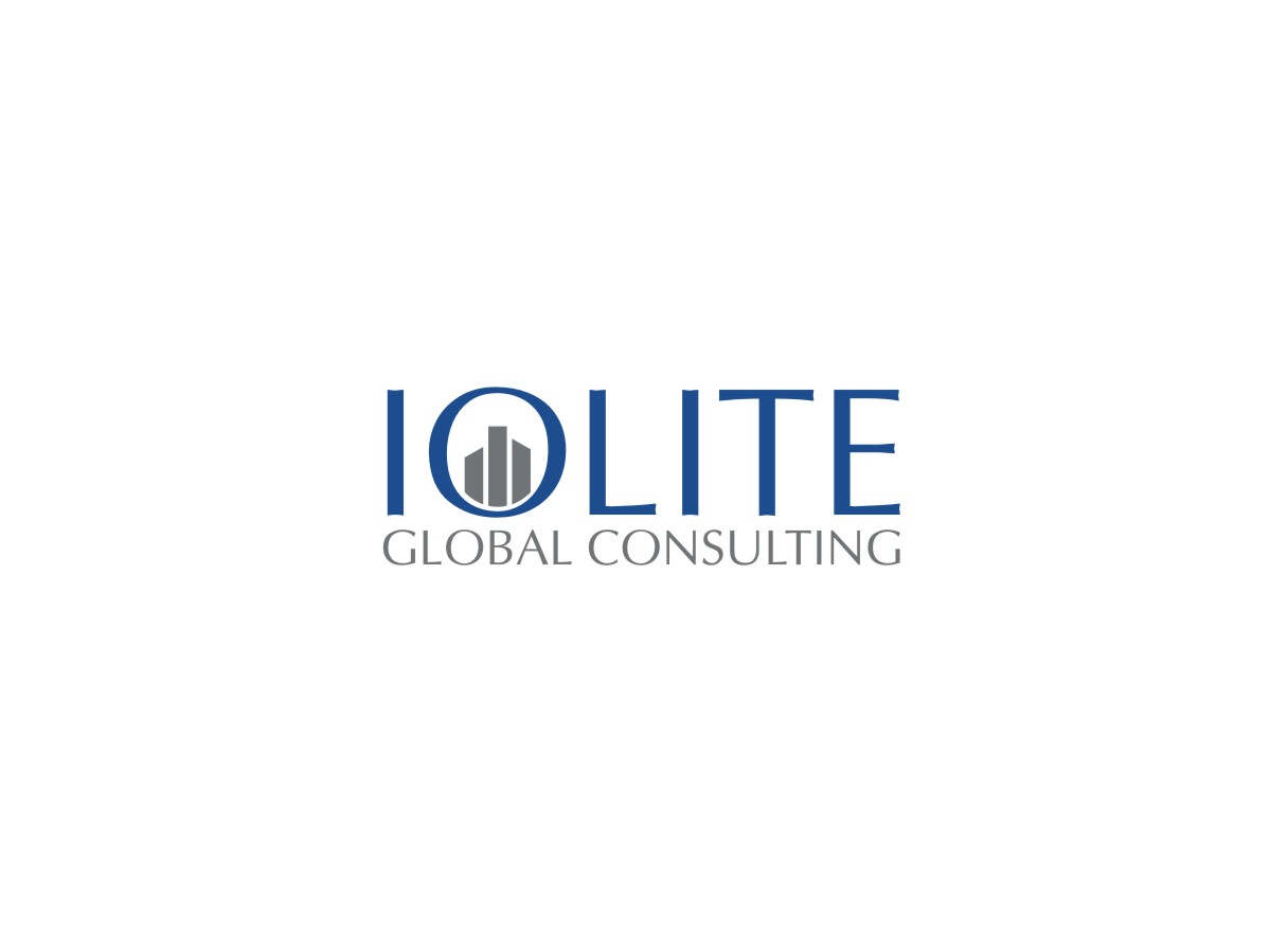 Upmarket modern logo design for iolite global consulting for Global design consultancy