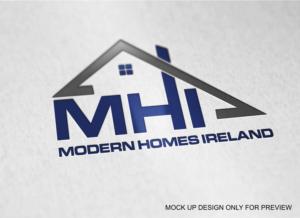 Logo Design Job   Modern Homes Ireland Needs A Logo Design   Winning Design  By Ava