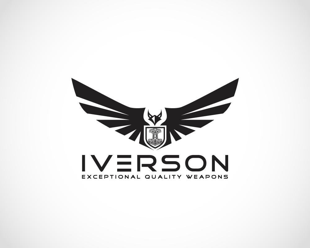 Black and White Eagle Logo Design by creativelogodesign