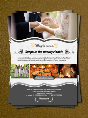 Event Planning Flyer Design Galleries for Inspiration