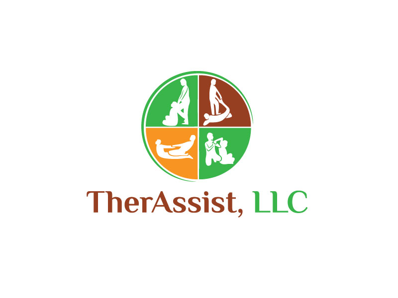 Modern Professional Physical Therapy Logo Design For Therassist By Atm Design Design 10331294