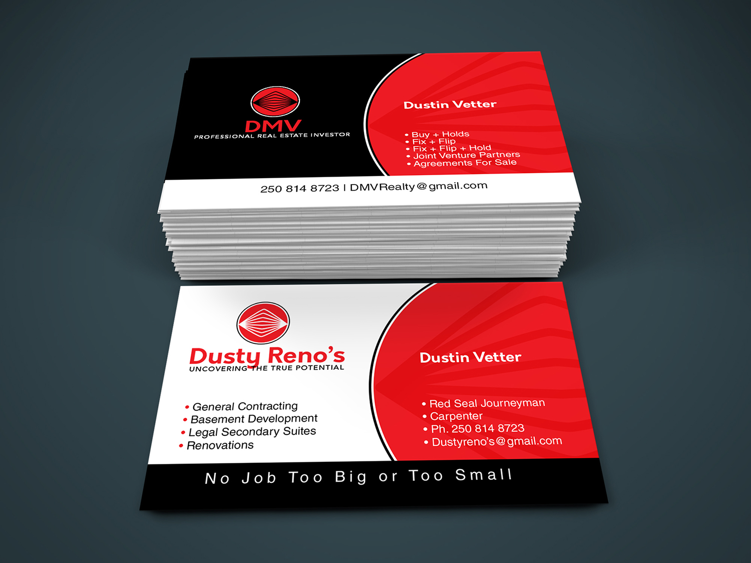 Professional, Modern, Construction Company Logo Design for Dont ...