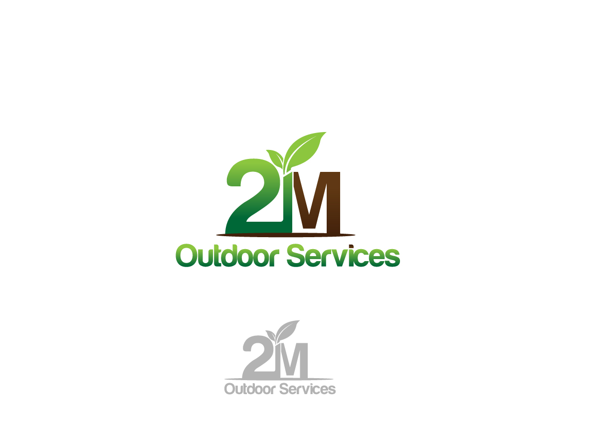Logo Design By Creativebugs For 2M Outdoor Services