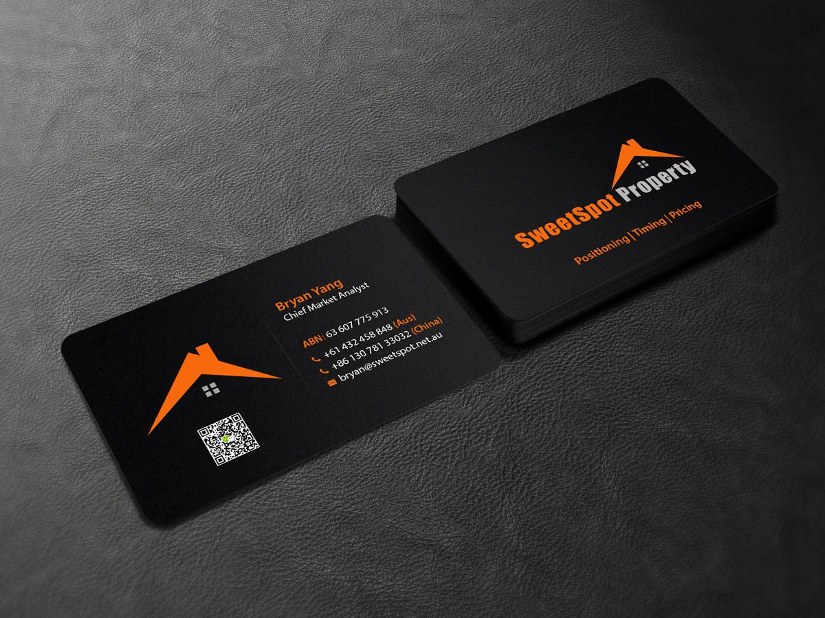 Elegant, Serious, Real Estate Agent Business Card Design for ...