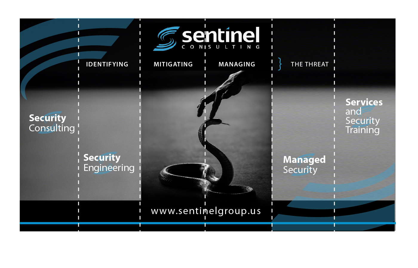 Bold serious security graphic design for sentinel for Graphic design consultant