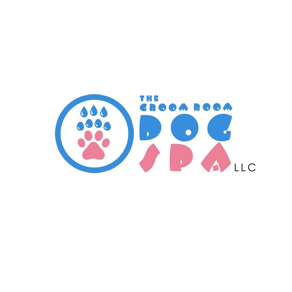 Elegant playful logo design for chickasha dog house by sandras logo design by sandras for the groom room llc dog spa and do it solutioingenieria Choice Image
