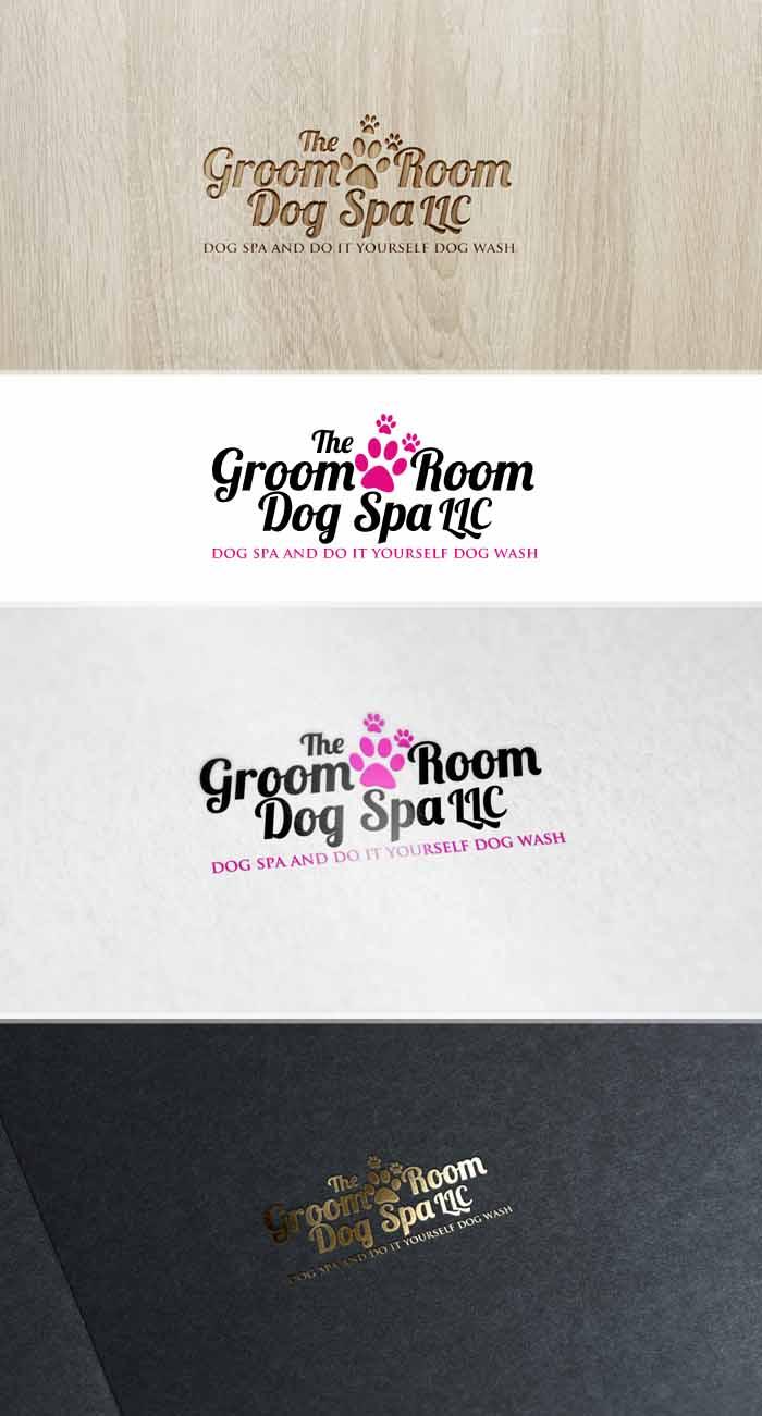 Elegant playful salon logo design for the groom room dog spa llc elegant playful salon logo design for chickasha dog house in united states design 10301447 solutioingenieria Choice Image
