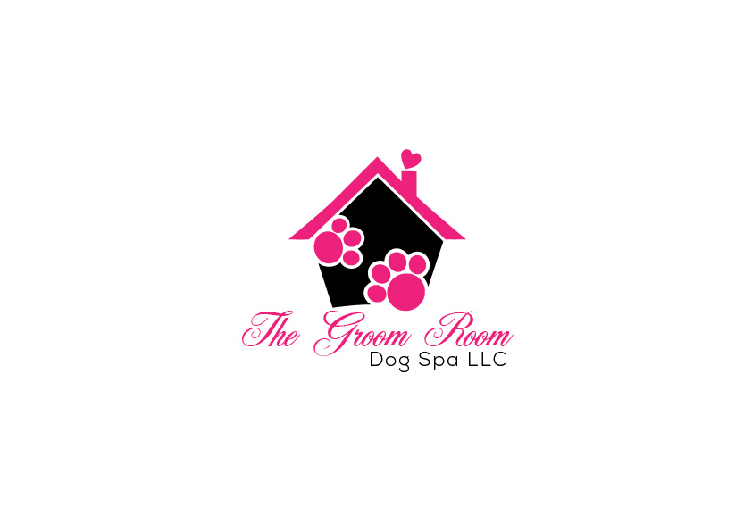 Elegant playful logo design for chickasha dog house by critical logo design by critical designs for the groom room llc dog spa and do solutioingenieria Choice Image
