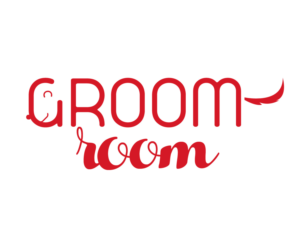Elegant playful salon logo design for the groom room dog spa llc logo design by empriusdesign for chickasha dog house design 10300831 solutioingenieria Images