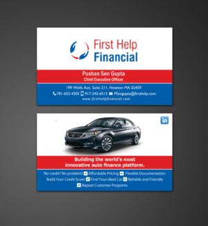 Innovative Auto Finance >> Auto Finance Company Needs A Business Card Design 165