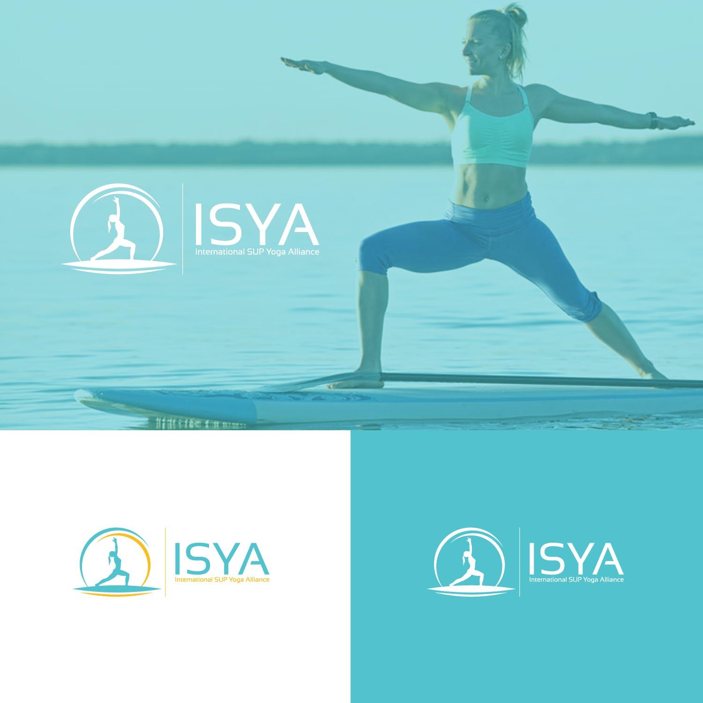 Logo Design For Isya International Sup Yoga Alliance By Karthika Vs Design 10285491