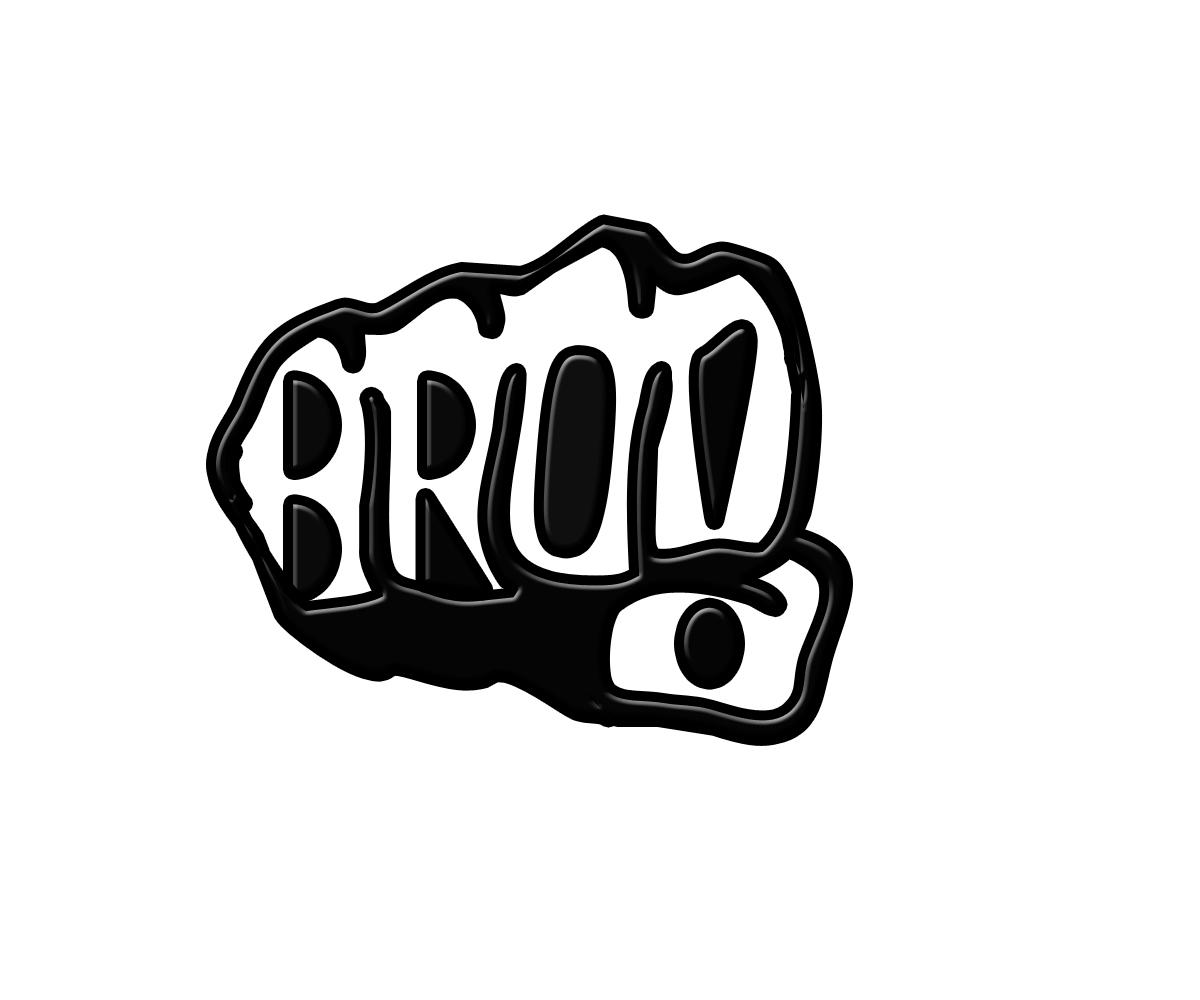 masculine playful textile logo design for bro bro underwear