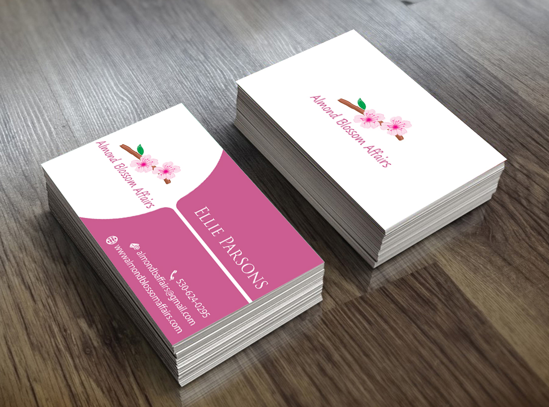 Elegant modern event planning business card design for a company business card design by perfect logo designs for this project design 10365454 colourmoves