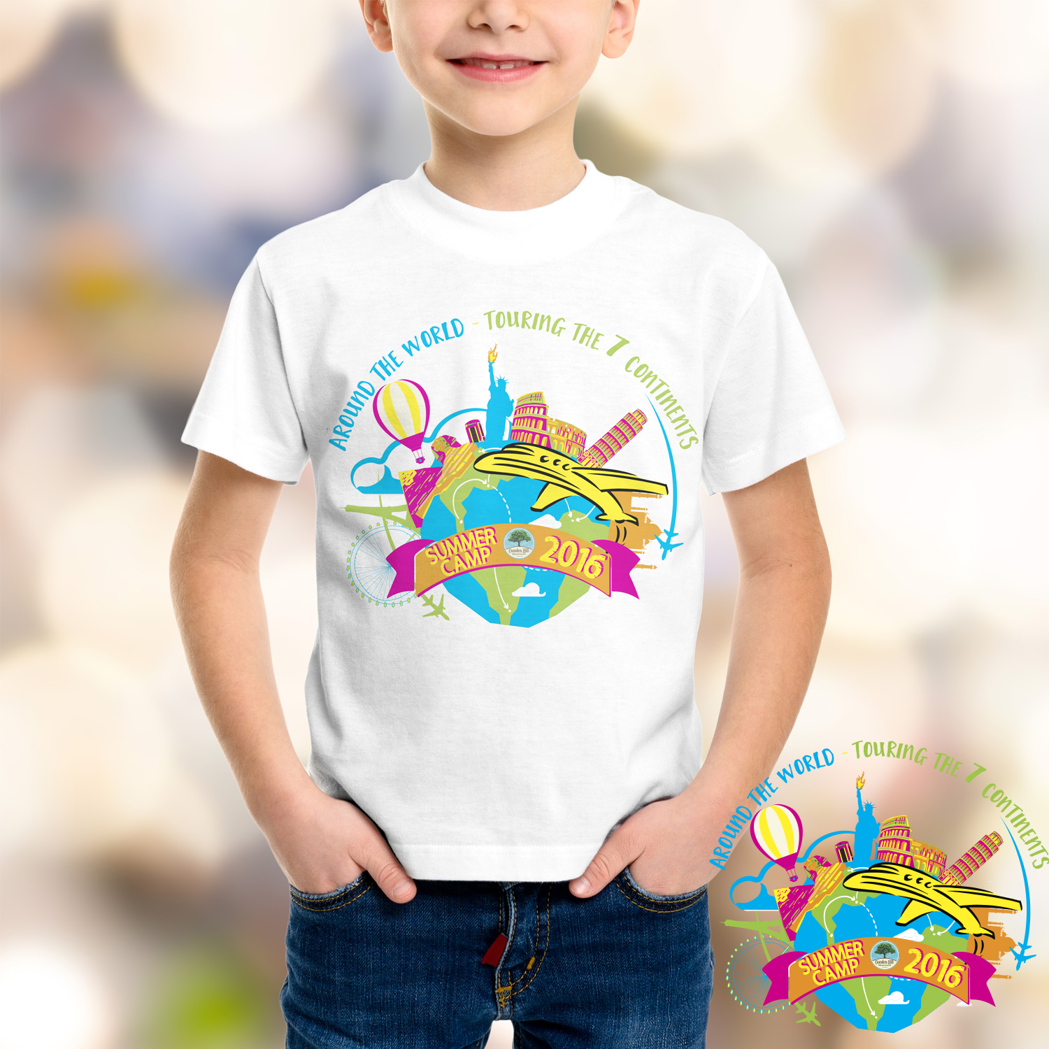 Playful, Personable, Preschool T-shirt Design for a Company by Irina ...