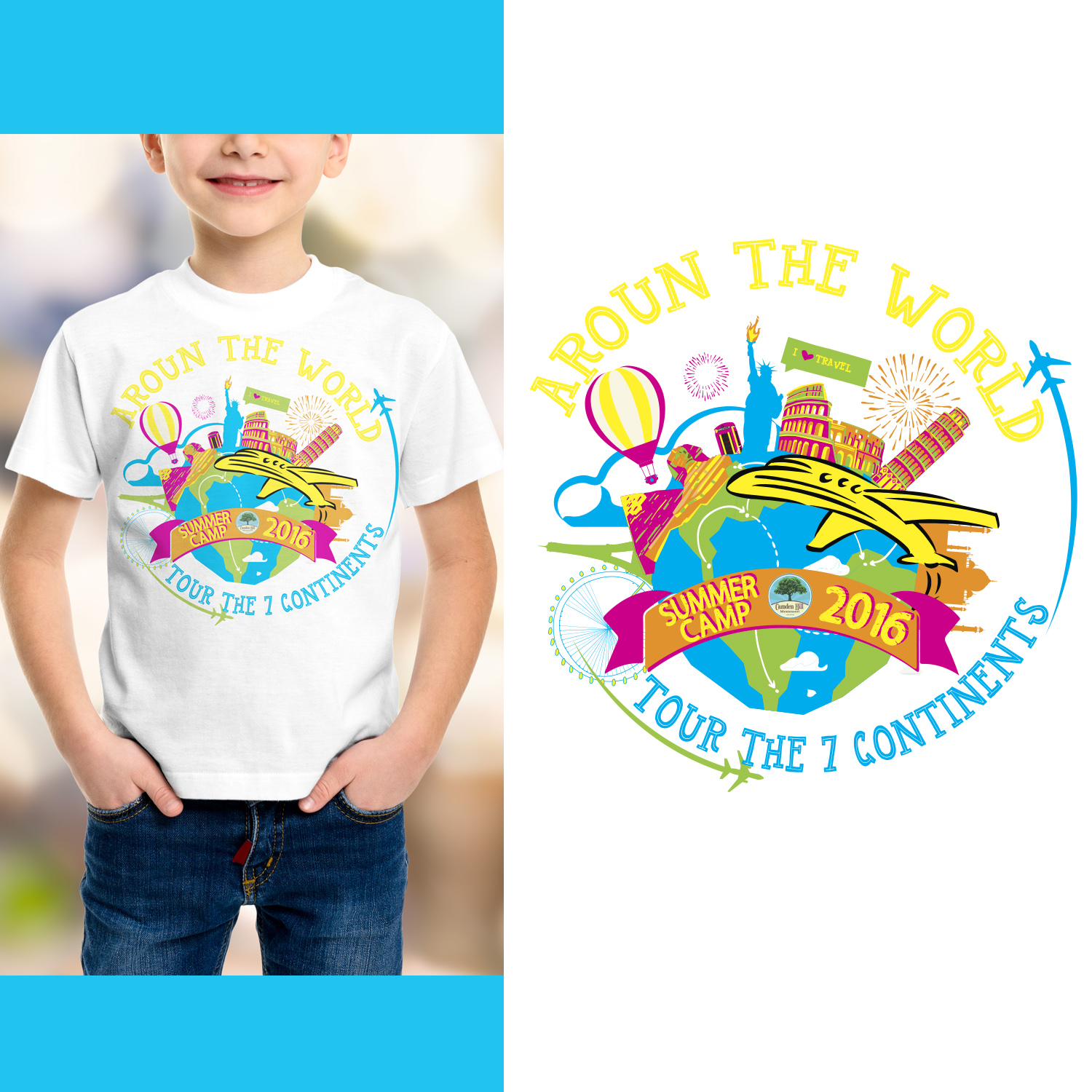 Playful, Personable, Preschool T-shirt Design for a Company ...