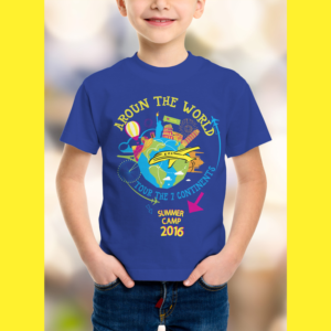 t shirt design design 10294791 submitted to summer camp tshirt for a