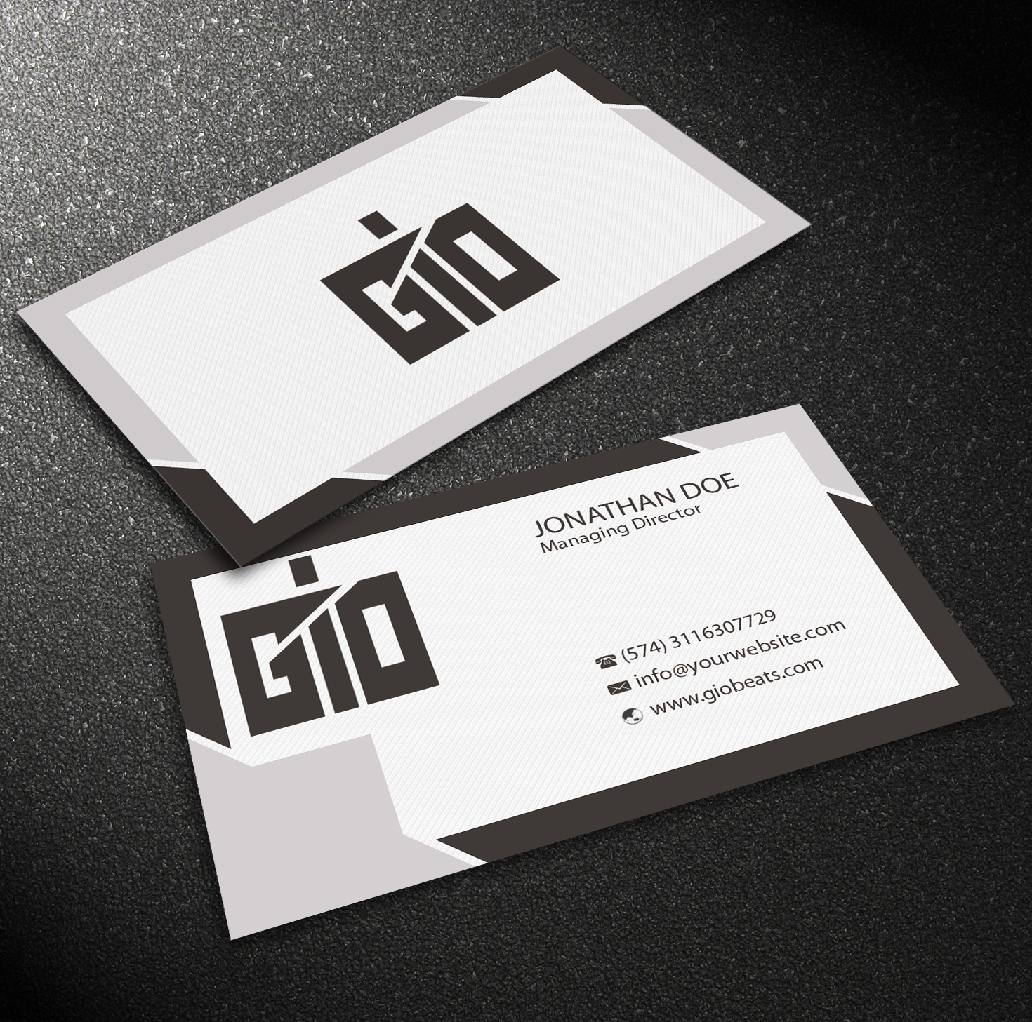 Upmarket, Masculine Business Card Design for Geotecnica by ...