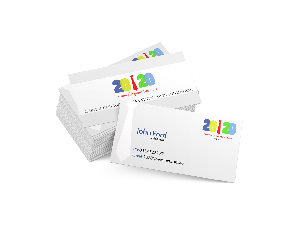Colorful, Upmarket, Business Consultant Business Card Design for a ...