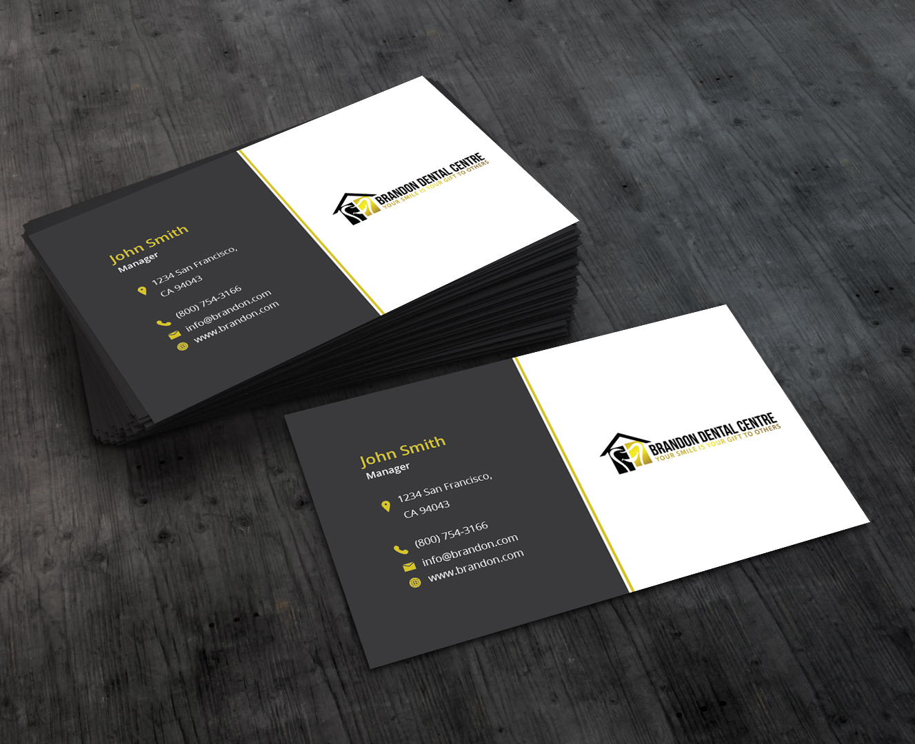 Elegant playful business business card design for a company by business card design by abyjohns for this project design 10287512 reheart Choice Image