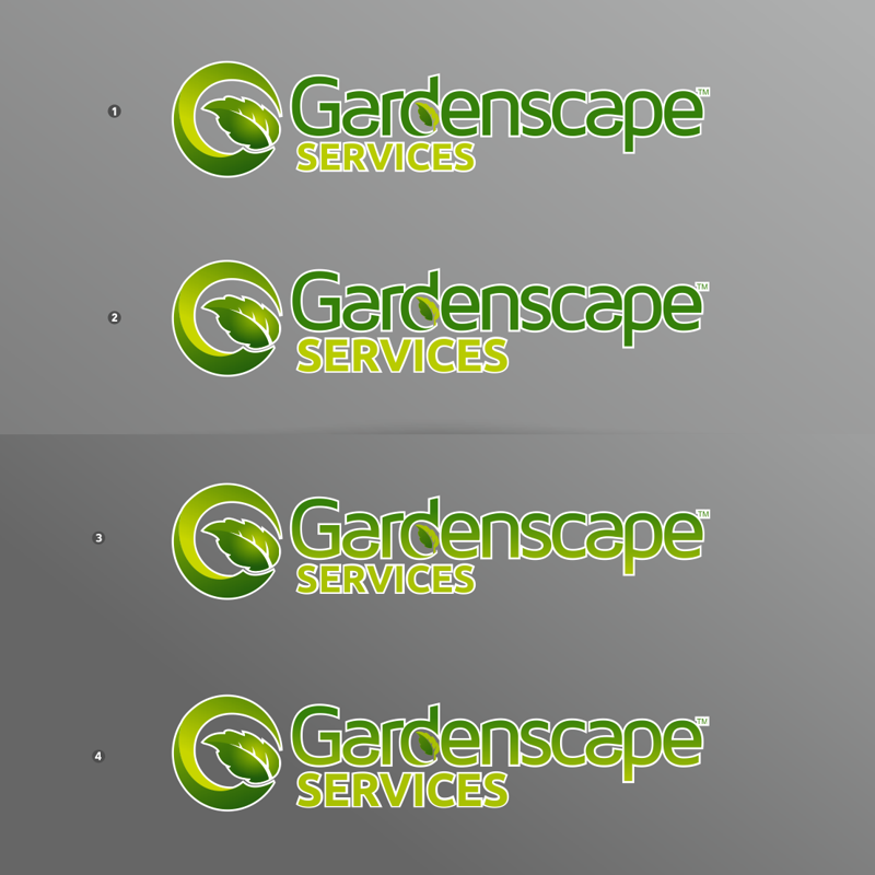 Landscape business logo company name logo design for Landscaping company name ideas