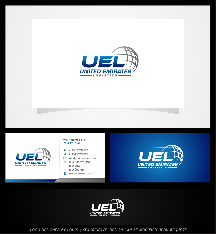Serious, Professional, Freight Forwarding Logo Design for United