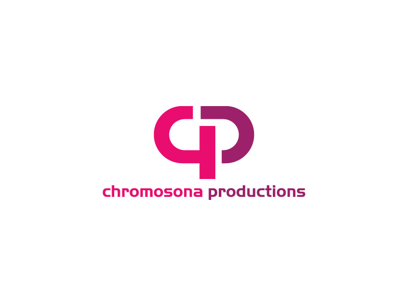 Elegant Upmarket Tv Logo Design For Chromosona Productions By