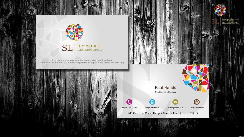Upmarket, Serious, Financial Service Business Card Design for SL ...