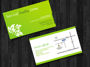 Bed business card designs 155 bed business cards to browse page 8 new leaf healthy living needs a catchy business card design business card design by straw colourmoves