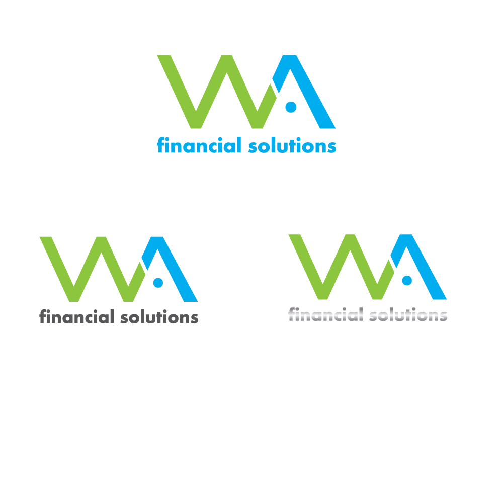 modern upmarket financial service logo design for wa
