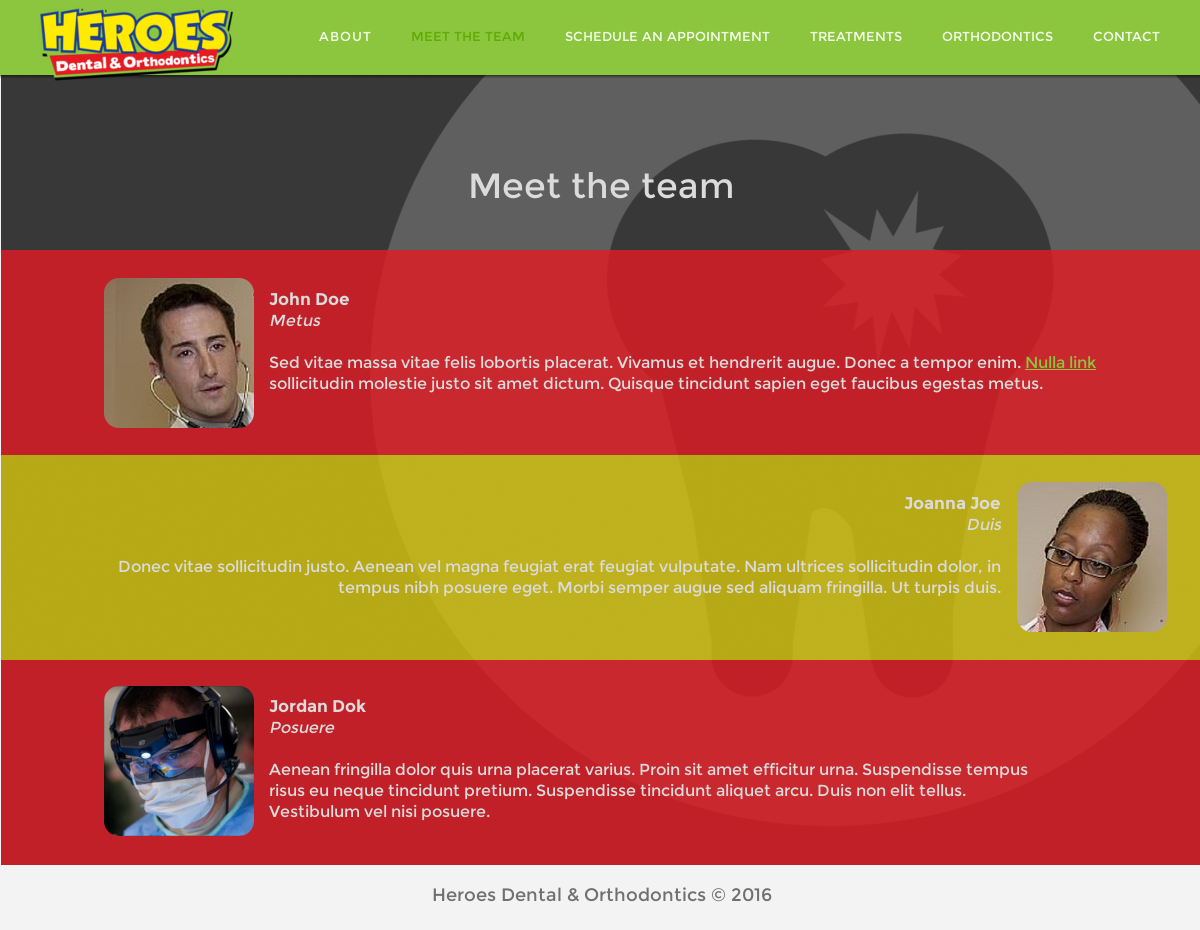 Colorful, Playful, Dental Web Design for a Company by lukas.svingen ...