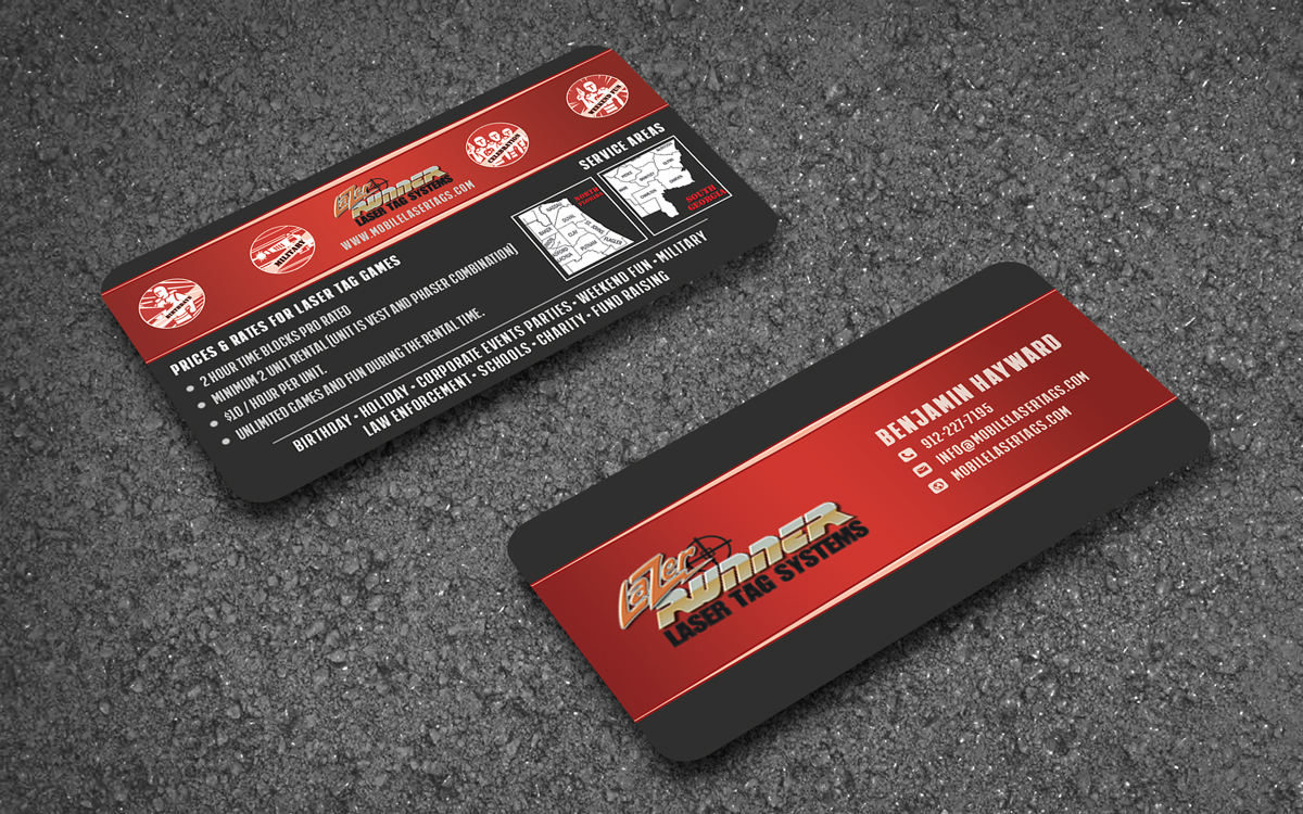 Elegant, Playful, It Professional Business Card Design for a Company ...