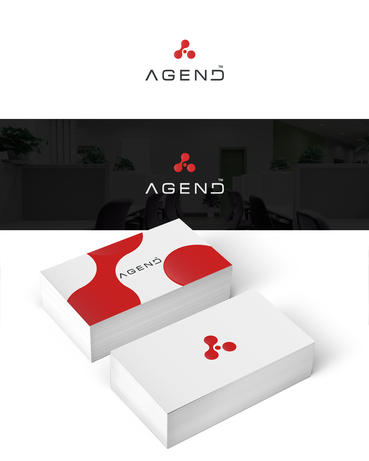 164 Modern Professional Logo Designs for AGEND a business