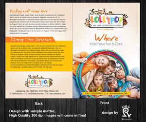 Brochure Design by Rflames  - Lollipop Nursery - Brochure Design Project